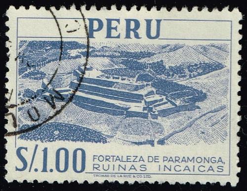 Peru **U-Pick** Stamp Stop Box #158 Item 83  USS158-83