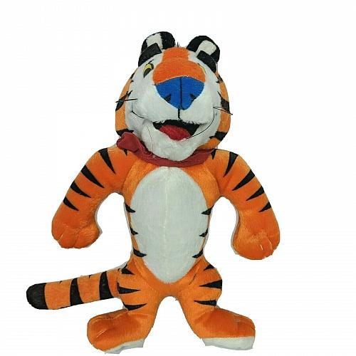 """Vintage Kellogg Tony The Tiger Frosted Flakes Cereal Plush Stuffed Animal 9.5"""""""