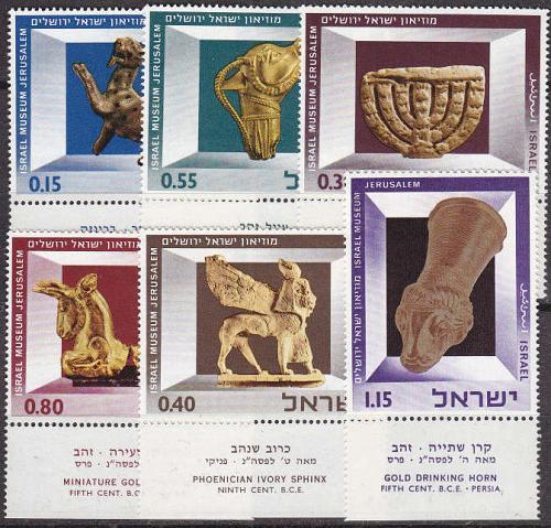 ISRAEL [1966] MiNr 0371-76 ( **/mnh ) Kunst