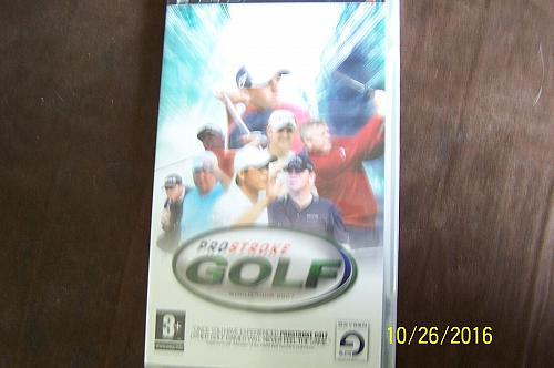ProStroke Golf: World Tour 2007 (Sony PSP, 2007) - European Version