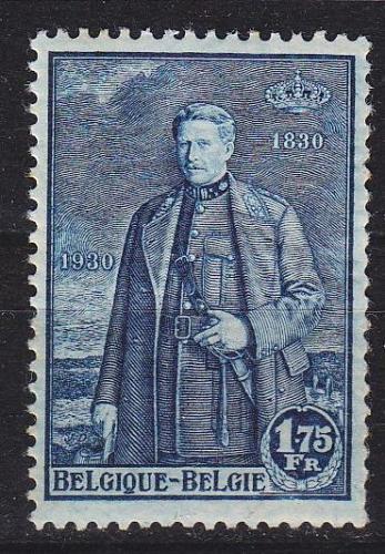 BELGIEN BELGIUM [1930] MiNr 0286 ( */mh ) [01]