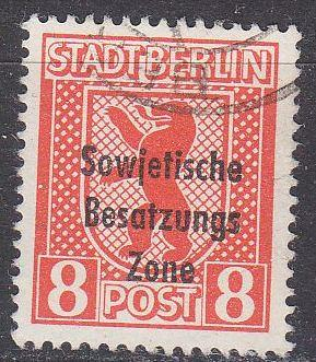 GERMANY Alliiert SBZ [Allgemein] MiNr 0202 ( O/used )