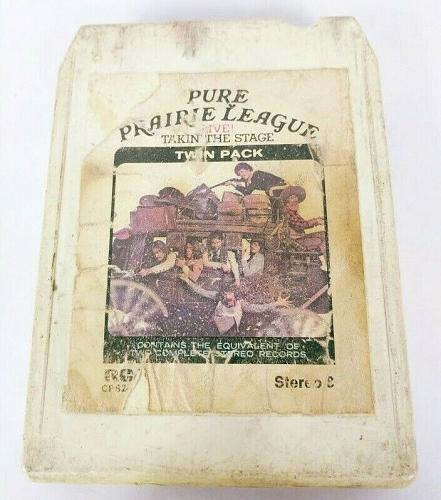 Pure Prairie League Live! Takin' The Stage (8-Track Tape, CPS2-2404)