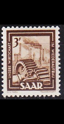 GERMANY Saar [1949] MiNr 0275 ( **/mnh )