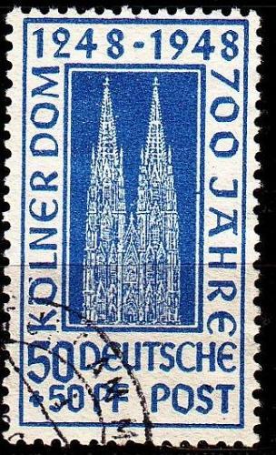 GERMANY Alliiert AmBri [1948] MiNr 0072 ZC ( O/used )