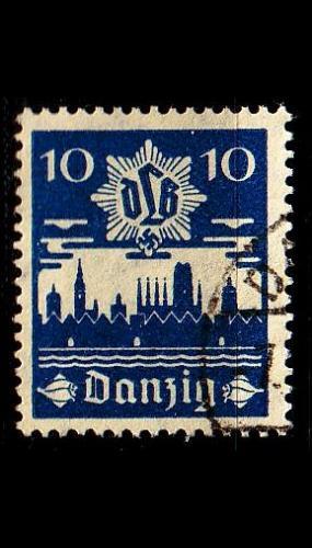 GERMANY REICH Danzig [1937] MiNr 0267 ( OO/used )