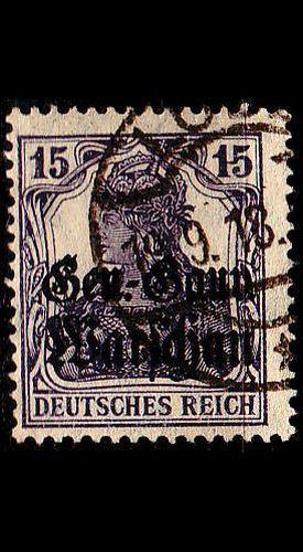 GERMANY REICH Besetzung [Polen] MiNr 0012 b ( O/used )