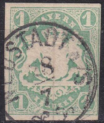 GERMANY Bayern Bavaria [1867] MiNr 0014 a ( O/used ) [01]