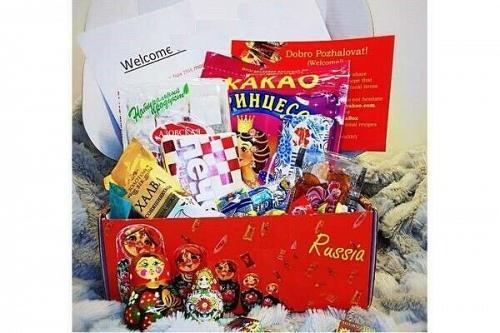 Russian, Soviet, Slavic and Eastern European box kit gift Snacks free shipping