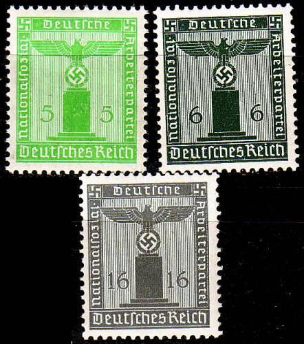 GERMANY REICH Dienst [1938] MiNr 0144 ex ( **/mnh ) [01]