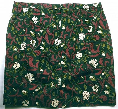 Ann Taylor Loft Women's Pencil Skirt Size 14 Solid Floral Black Red White