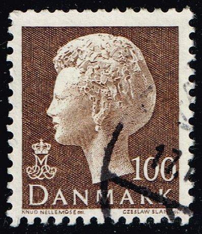 Denmark #544 Queen Margrethe; Used (3Stars)  DEN0544-01XBC