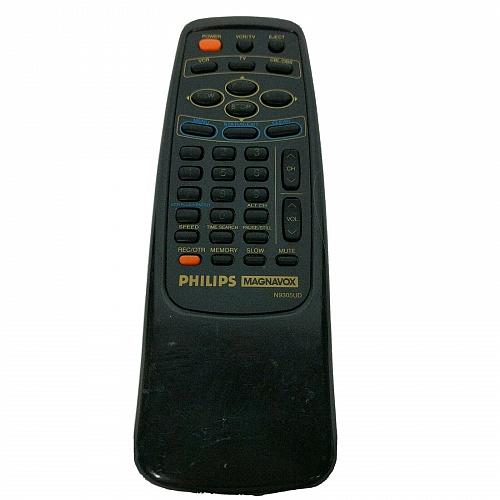 Genuine Philips Magnavox TV VCR Remote Control N9305UD Tested Works
