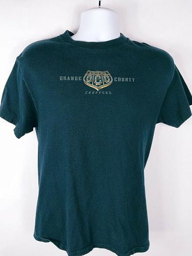 Orange County Choppers New York Men's T-Shirt Med Graphic Short Sleeve Blue