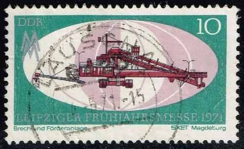 Germany DDR #1279 Leipzig Spring Fair; Used (0.25) (3Stars) |DDR1279-01