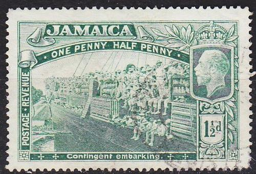 JAMAIKA JAMAICA [1919] MiNr 0073 ( O/used )