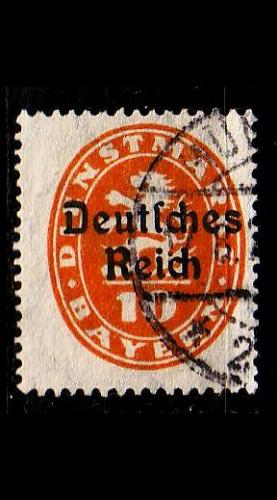 GERMANY REICH Dienst [1920] MiNr 0035 ( O/used )