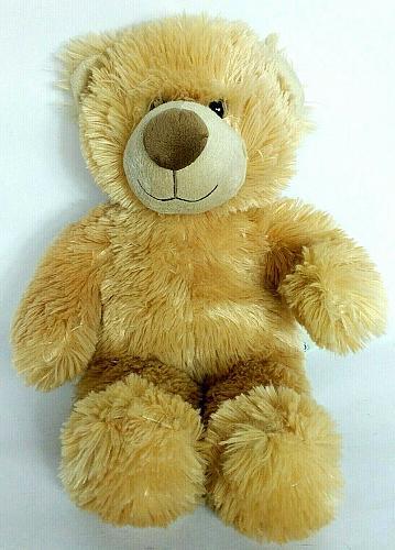 "Build A Bear Workshop Bear BAB Brown Plush Stuffed Animal 14.5"""