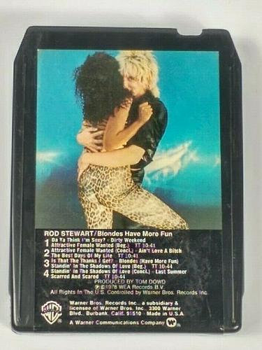 Rod Stewart Blondes Have More Fun (8-Track Tape, M8 3261)