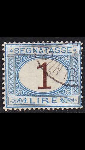 ITALIEN ITALY [Porto] MiNr 0011 ( O/used )