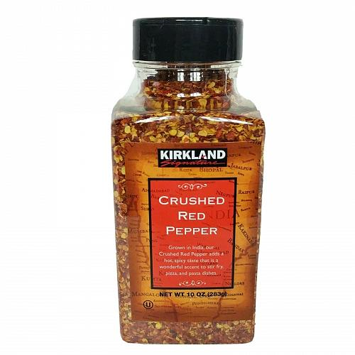 Kirkland Signature Crushed Red Pepper Spice 10 oz