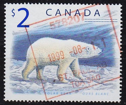 KANADA CANADA [1998] MiNr 1726 ( O/used ) Tiere