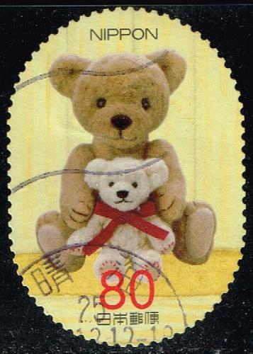 Japan #3471f Teddy Bears; Used (4Stars) |JPN3471f-01XDT