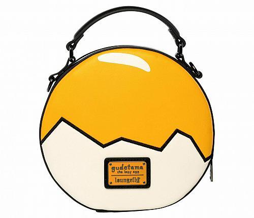 New Hello Kitty Loungefly x Gudetama Egg Crossbody Bag Free Shipping