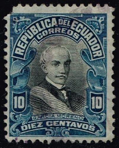 Ecuador #210 Garcia Moreno; Used (0.25) (0Stars) |ECU0210-01XRS