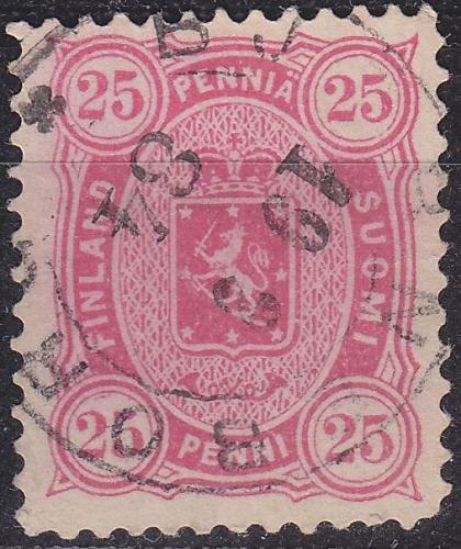 FINLAND SOUMI [1875] MiNr 0017 B y a ( O/used )