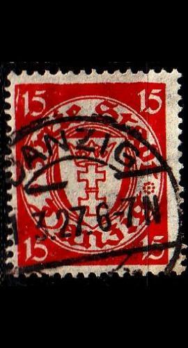 GERMANY REICH Danzig [1925] MiNr 0214 y ( OO/used )