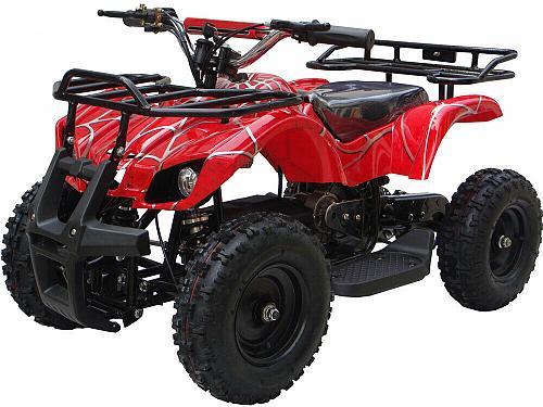 Kids Child Red Four Wheeler Outdoor 24V Electric Battery Mini ATV Quad Sonora