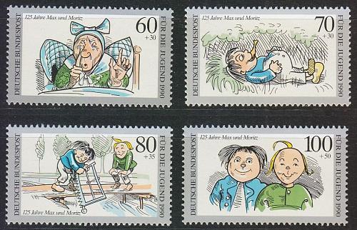 GERMANY BUND [1990] MiNr 1455-58 ( **/mnh )