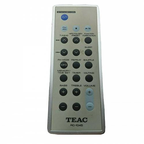Genuine Teac Audio System Remote Control RC-1045 Tested Works
