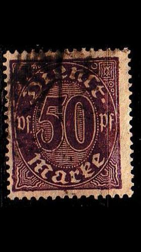 GERMANY REICH Dienst [1920] MiNr 0029 ( O/used )