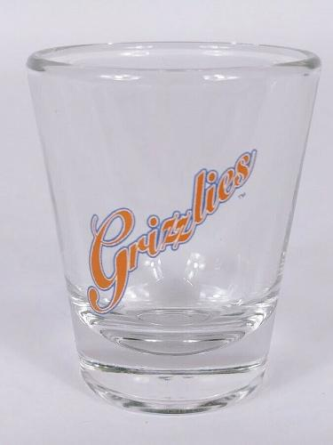 """Grizzlies 2.25"""" Collectible Shot Glass"""