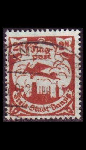 GERMANY REICH Danzig [1921] MiNr 0069 ( OO/used )