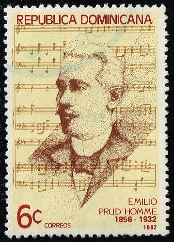 Dominican Rep. #864 Emilio Prud'Homme; Used (3Stars) |DOR0864-04XRS