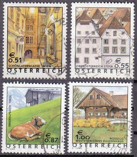 ÖSTERREICH AUSTRIA [Lot] 04 ( O/used ) Ferienland gut, sauber