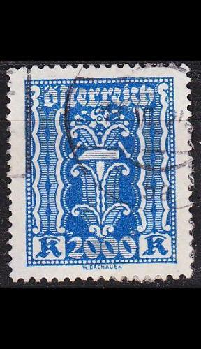 ÖSTERREICH AUSTRIA [1922] MiNr 0395 ( O/used )