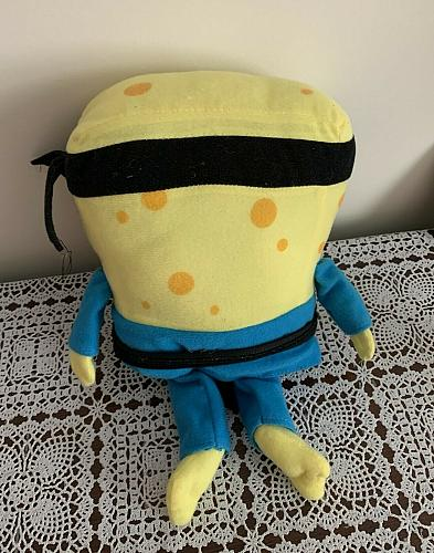 Nickelodeon Sponge Bob 12 Inch Plush Stuffed Toy With For Dog Rescue Charity