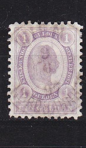 ÖSTERREICH AUSTRIA [1896] MiNr 0067 A ( O/used )