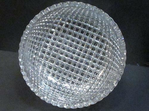 American Brilliant Period Hand Cut Glass Flashy bowl abp