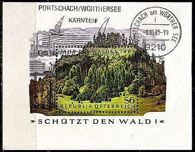 ÖSTERREICH AUSTRIA [1985] MiNr 1819 Block 7 ( O/used ) Pflanzen
