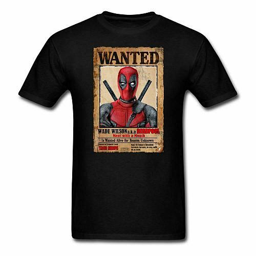 Deadpool Wanted Unisex Classic T-Shirt