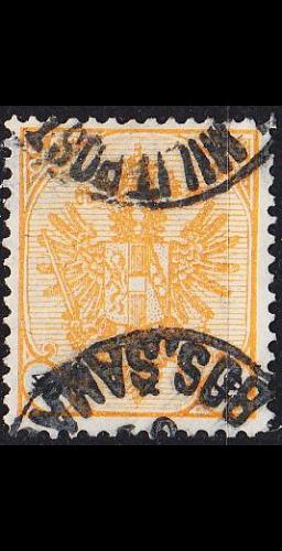 ÖSTERREICH AUSTRIA [BosHerz] MiNr 0027 ( O/used )