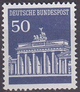 GERMANY BUND [1966] MiNr 0509 v ( **/mnh )