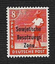 German MNH Scott #10N3 Catalog Value $.64