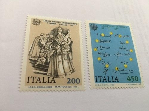 Italy Europa 1982 mnh stamps