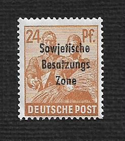 German MNH Scott #10N9 Catalog Value $.64